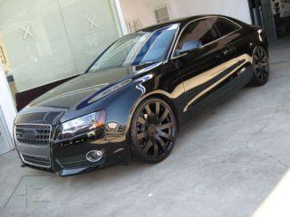 inch Audi A4 A5 A6 A7 A8 Q5 RS4 Wheels/Rims and Tires HR4 Matte Black