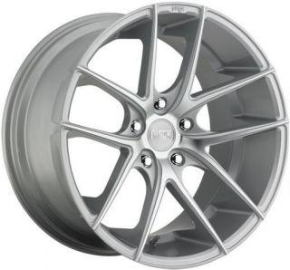 19 Niche Targa Wheels Silver Mercedes CLK Class CLK320 CLK350 CLK430