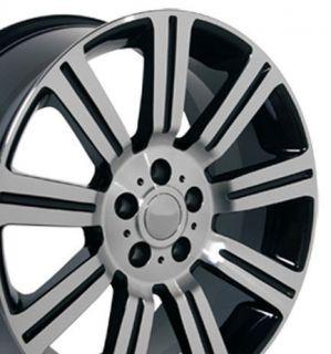 22 Stormer Wheel Black Rim Fits Land Range Rover LR3 LR4 HSE Sport