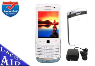 Unlocked Rim Blackberry Torch 9800 White 4GB At t Smartphone Any GSM