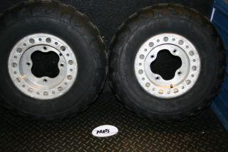 2009 Suzuki LTZ400 LTZ EFI ITP Baja Front Tires Wheels Rims