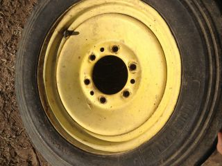 Deere Styled A Original Front Rim Wheel Excellent Condition