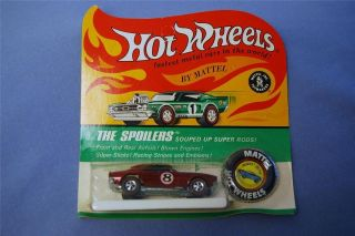 Vintage 1969 HOT WHEELS Redline HEAVY CHEVY UNPUNCHED BLISTER CARD NOS