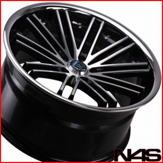 IS250 is350 Rohana RC20 Machined Concave Staggered Wheels Rims