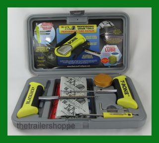 Truck Tire Repair Kit T Bone Handles 35 6 Plugs KT 335