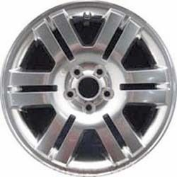 Mercury Mountaineer Wheel Rim 3625B Clad 6L9Z1007A