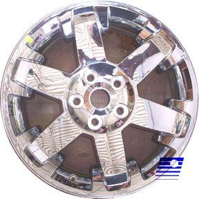 09 10 11 Dodge RAM 1500 Pickup 20 x 9 Chrome Clad 6 Spoke Factory