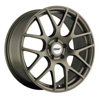 18x8 TSW Nurburgring Bronze Wheel Rim s 5x100 5 100 18 8