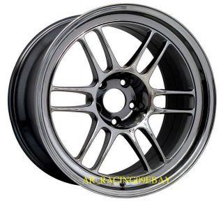 18 Enkei Wheels RPF1 18x10 5 15 SBC 08 09 10 11 12 EVO x STI 350Z