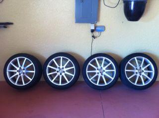 2006 Cadillac XLR V Silver Rims w Pirelli Runflat Tires