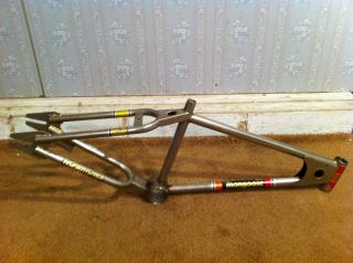 1978 Mongoose Frame 20 Nickel Vintage Bike Old School BMX