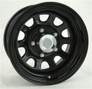 Pro Comp Steel Wheels 15 x 8 Gloss Black 5x4 5 New Set of 4