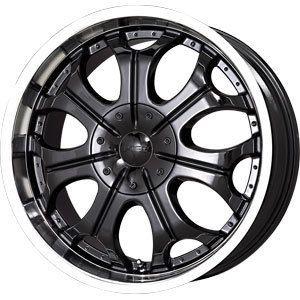 New 20x9 5x114 3 5x120 65 V Tec Black Wheels Rims