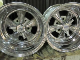 Cragar SS Deep Dish Rims Mags Wheels WIth Spinners 15x10 and 15x8 w
