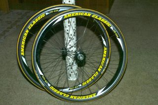 Classic CR 420 Road Wheelset Wheels + Michelin Krylion Carbon Tires