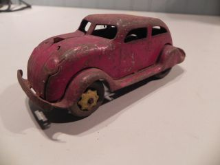 Antique Car , 30s ?, Marx ?, Easter Truck ? Wood Wheels