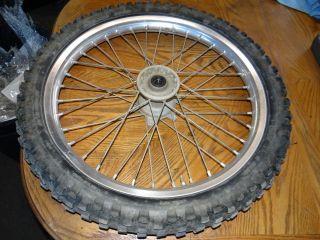 YZ426F YZ426 F YZ400 98 99 00 01 Front Wheel Rim Hub Tire