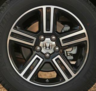 09 10 11 12 Honda Ridgeline 18 x 7 5 Sport Black Alloy Wheel 42700