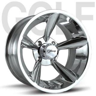 Fairway Alloys Bullet Hand Polished Golf Cart 4 Wheels Rim 12x7