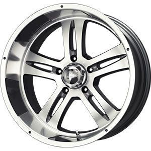 New 17x8 5x114 3 MB Motoring Anthracite Wheels Rims
