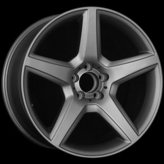 18 Matte Gun Metal Wheels Fit Mercedes CLK320 CLK430 CLK 55 AMG CLS