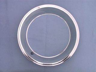 New 14 Chev Olds Mag Style Rally Wheel Trim Rings