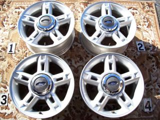 FORD EXPLORER 16 WHEELS RIMS STOCK OEM FACTORY ESCAPE RANGER 16 MAZDA