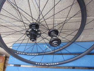 Creek 650c Road Bike Shimano Carbon Rim Sew Up Tubular Tire Wheels New