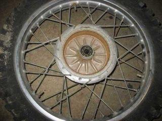 Rear Wheel Rim Tire Hub 1970 1971 Yamaha RT1 360 70 71 RT 1