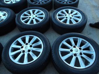 20 Lexus LX570 Wheels Tires Rims Toyota Sequoia Tundra Dunlop 74212B