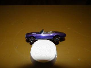 Hot Wheels Redline Custom Firebird in Purple with Brown Interior HK