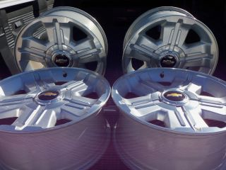 18 Chevy Truck Z71 Alloy Wheels Set of 4 Used