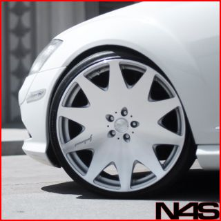 S600 S63 S65 MRR HR3 Concave VIP Silver Staggered Wheels Rims