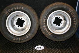 Honda 450R 450 R 400ex Hoosier Flat Track TT Rear Wheels Rim Tires