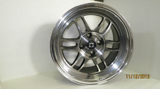 Wideopen 15x8 et20 4x100 exclusive jdm Full Machine wheel rim new