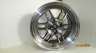Wideopen 15x8 et20 4x100 exclusive jdm Full Machine wheel rim new