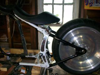 Harley Softail Rear Wheel and Tire Rim Chopper Bobber XS650