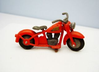 Vintage 1950s Tekno Harley Indian Motorcycle RARE