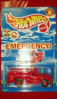 Hot Wheels Emergency Squad 51 Special Edition