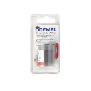 Dremel 20 Heavy Duty Cut Off Wheels 420 Bit Wheels