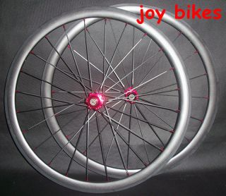 Carbon Clincher Wheels 38mm Bicycle Wheels 700c 3K High Quality