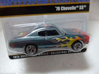 Hot Wheels 10th Collectors Nationals Car 1 64 1 400 w Sticker