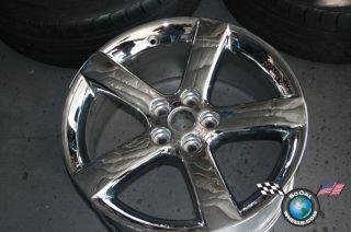 06 10 Pontiac Solstice Factory 18 Wheel Rim Chrome 6601 9595602