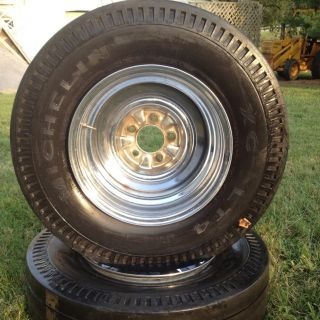 Cut Cheater Slicks Chrome Reverse Wheels Gasser Hot Rod Rat Rod