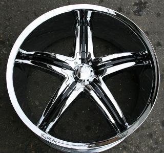 Viscera 770 22 Chrome Rims Wheels Mercedes GL450 GL550