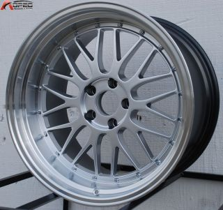 19 Staggered Varrstoen 5x114 3 LM Style Wheel Fit G35 G37 350Z 370Z