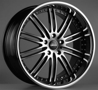 20 Vertini Hennessey BMW Wheels Rims 5 Series E60 525 530 535 545 645