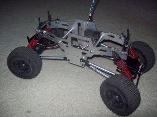 rc car rock crawler w/ traxxas rims TRAXXAS HPI & duratraxx servos RC