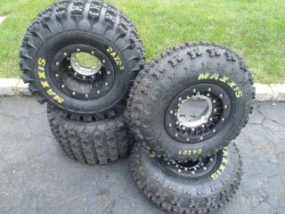 razr 2 hiper carbon fiber beadlock rims tires new yamaha banshee
