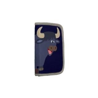 Cute Friendly Cartoon Bull Planner